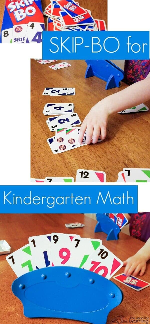 Playing SkipBo  Kindergarten Math Games Kindergarten Games  Math Learned from Skip Bo