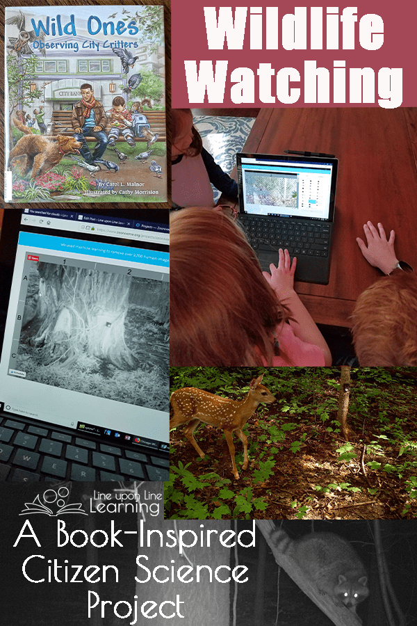 Wildlife Watching: Book-Inspired Citizen Science Project