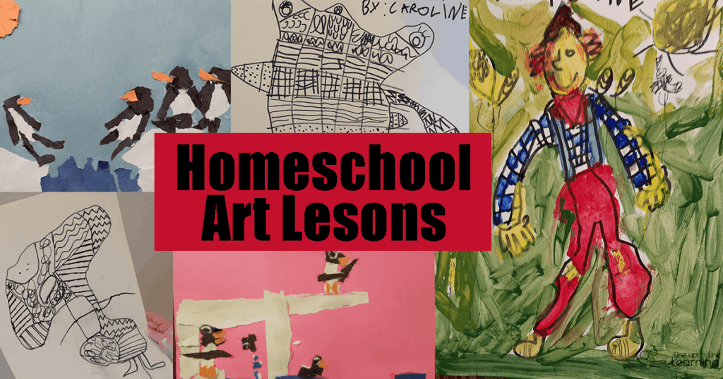 The Online Homeschool Art Curriculum from Atelier Homeschool Arts by Arts Attack was easily accessible through clear video directions.