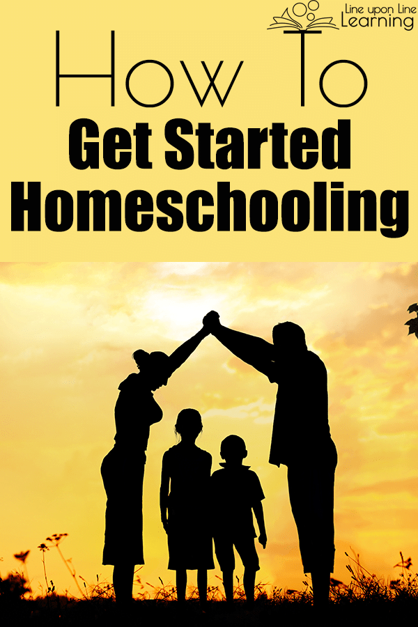 This post about how to get started homeschooling by planning your year. See all the posts in the series!