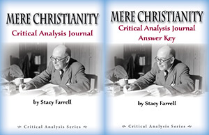 Mere Christianity Critical Analysis Journal & Answer Key Print Bundle