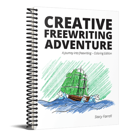 Creative Freewriting Adventure Coloring Edition