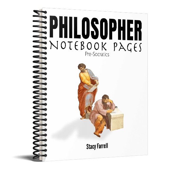 Philosopher Notebook Pages