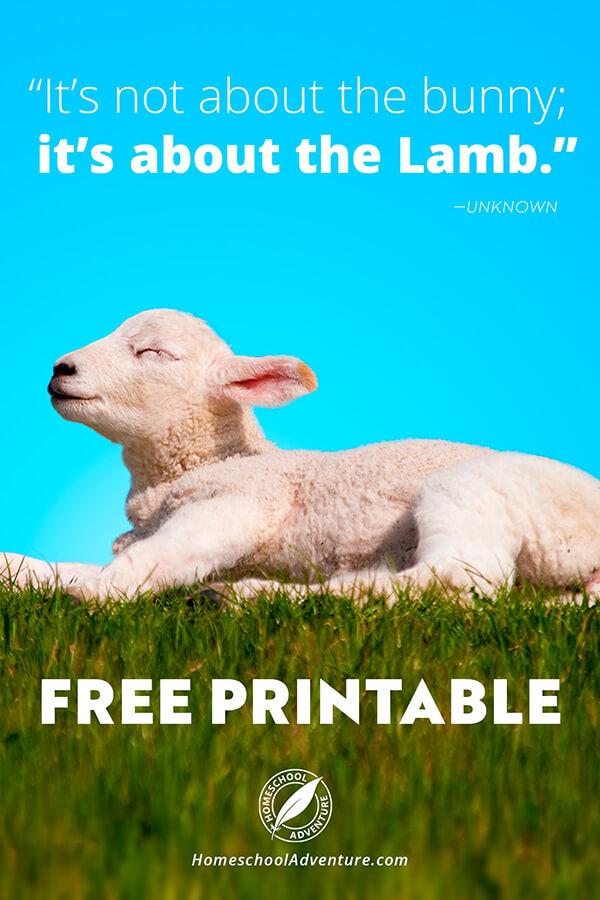 FREE_Easter_Lamb_Printable