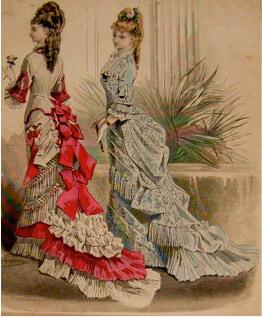 1877 Victorian Dress