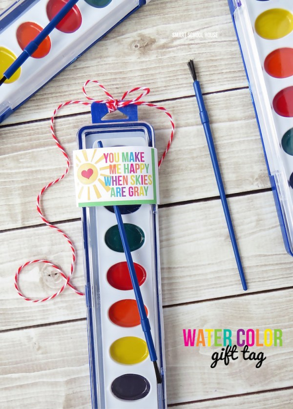 watercolor gift tags smart school house - 750×1048