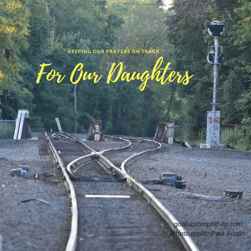Railroad tracks, prayer