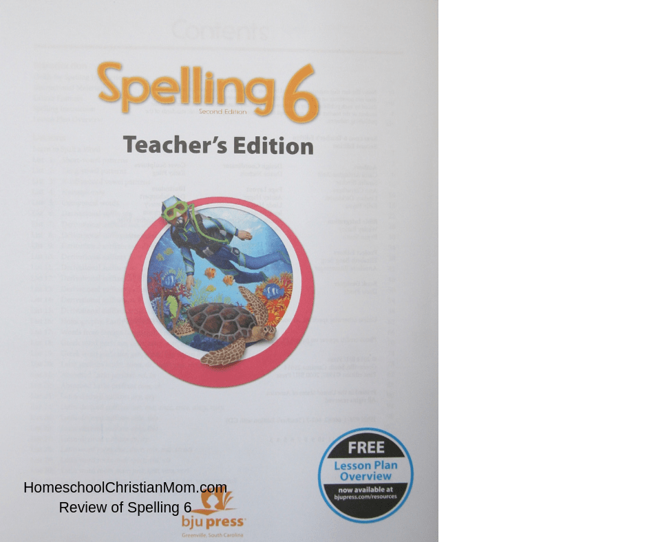 This great 6th grade spelling curriculum from BJU Press Homeschool uses a nautical theme throughout.