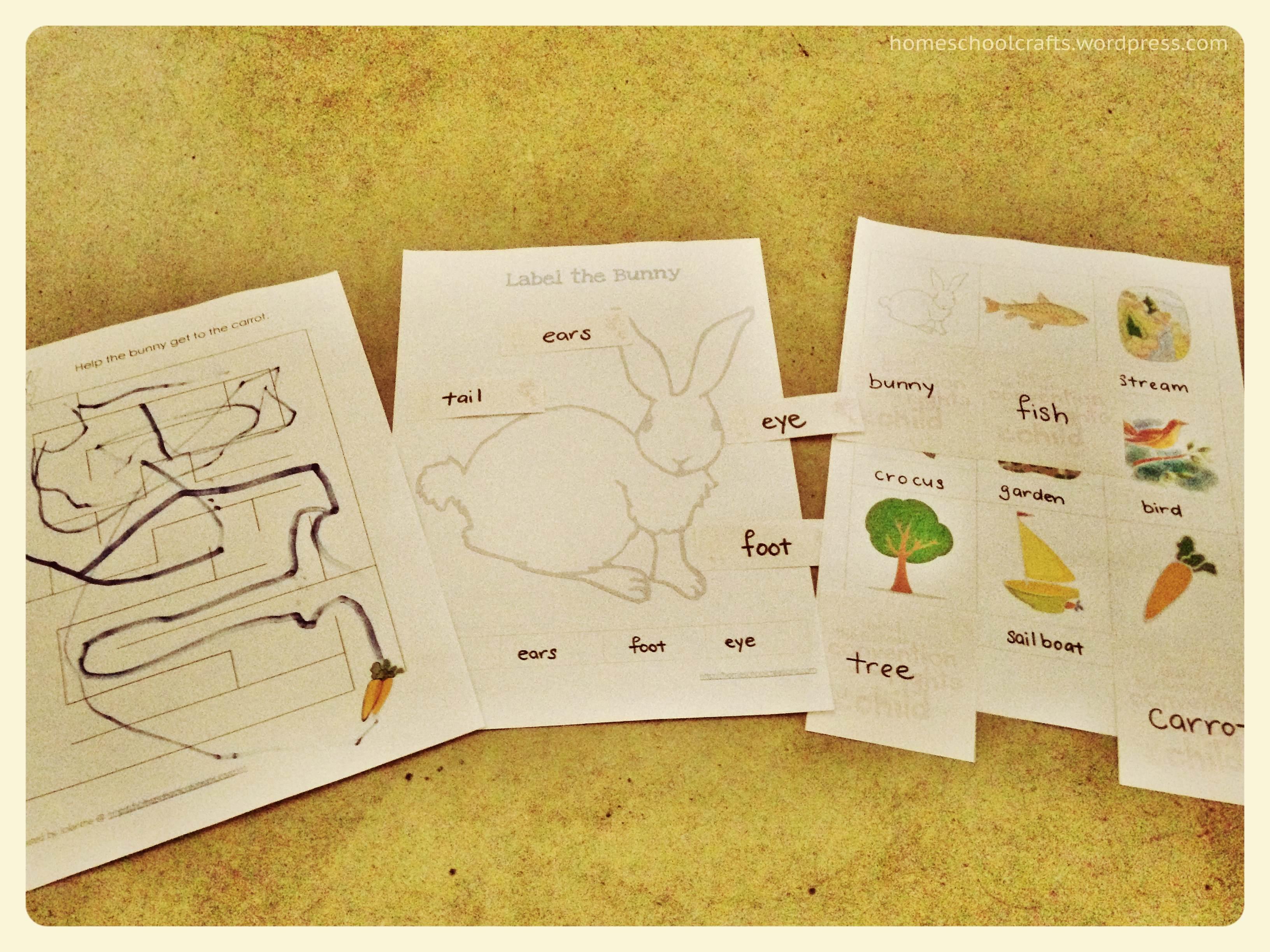 The Runaway Bunny Homeschool Crafts