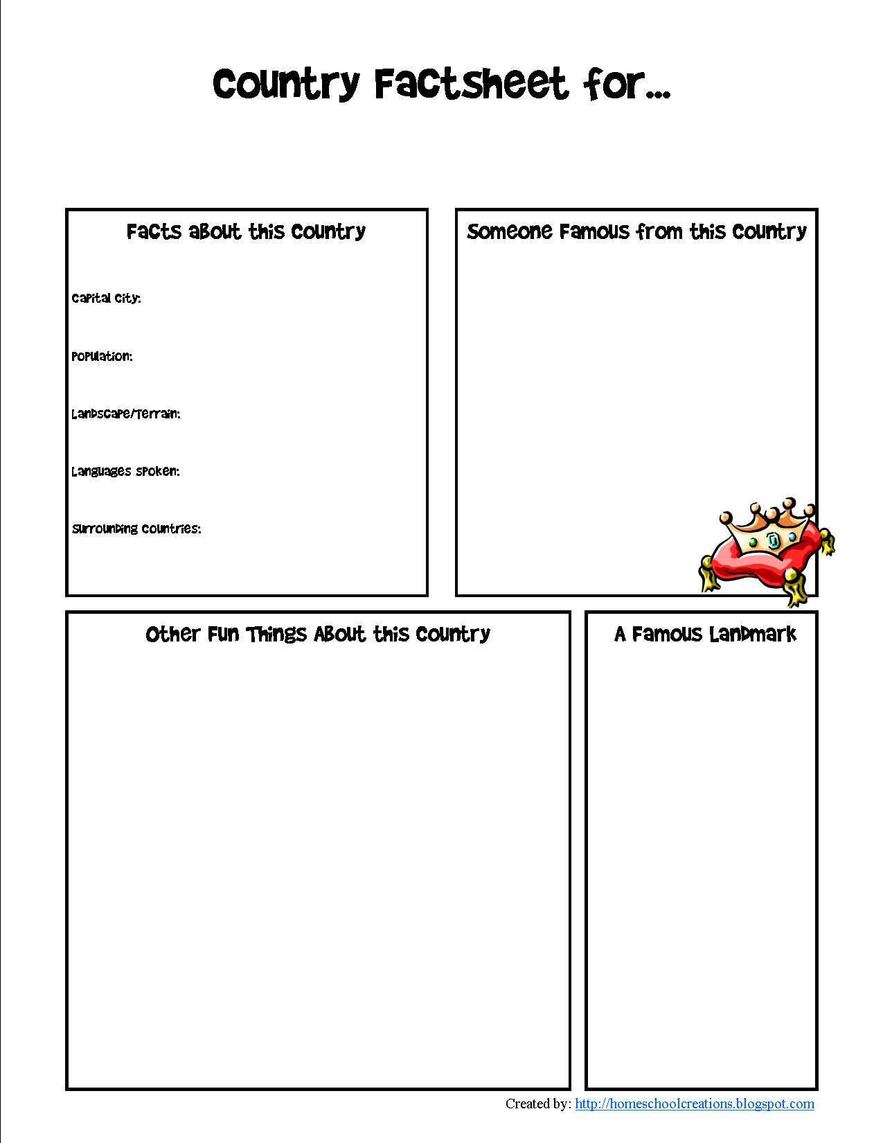 Lesson Plans Resources And Ideas For Countries In
