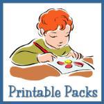 Preschool Printable Packs from Homeschool Creations