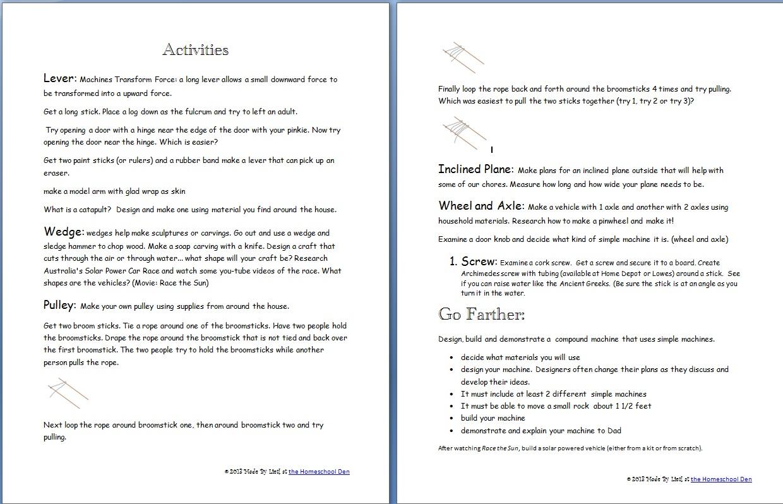 Worksheet Simple Machines Worksheets Grass Fedjp
