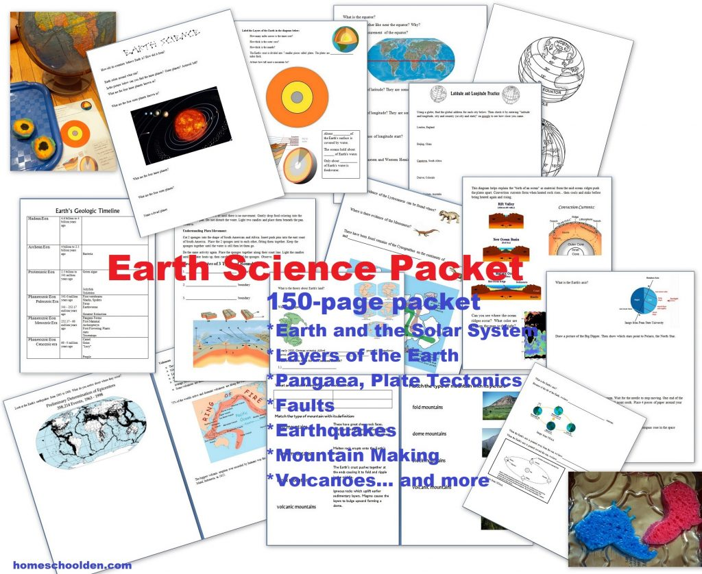 Layers Of The Earth Science Experiments