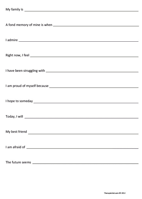 Motivational Interviewing Worksheets