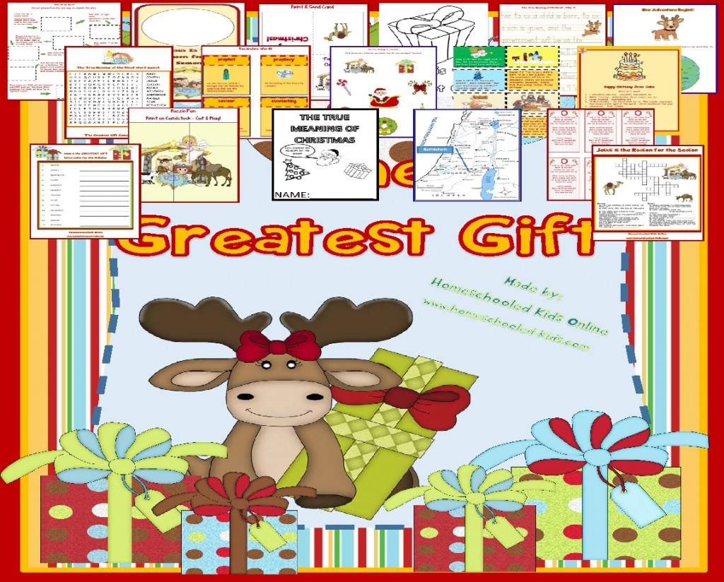 Christmas Printable Packet Advent And Greatest T