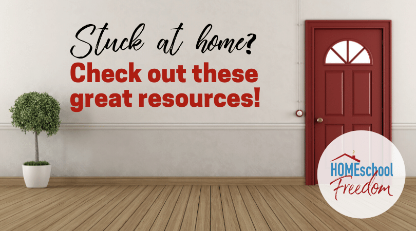 Stuck at home? Check out these great resources!