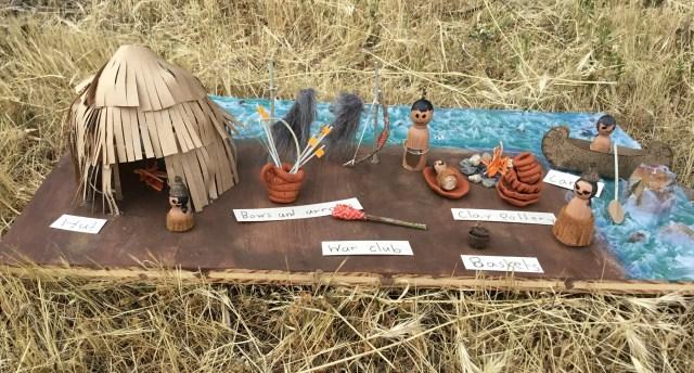 Make Your Own Diorama: Native American Diorama Project -Homeschool Fridays