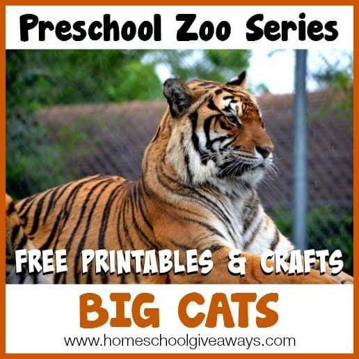 Wondrous Preschool Zoo Series Free Printables And Crafts Big Cats Home Interior And Landscaping Analalmasignezvosmurscom
