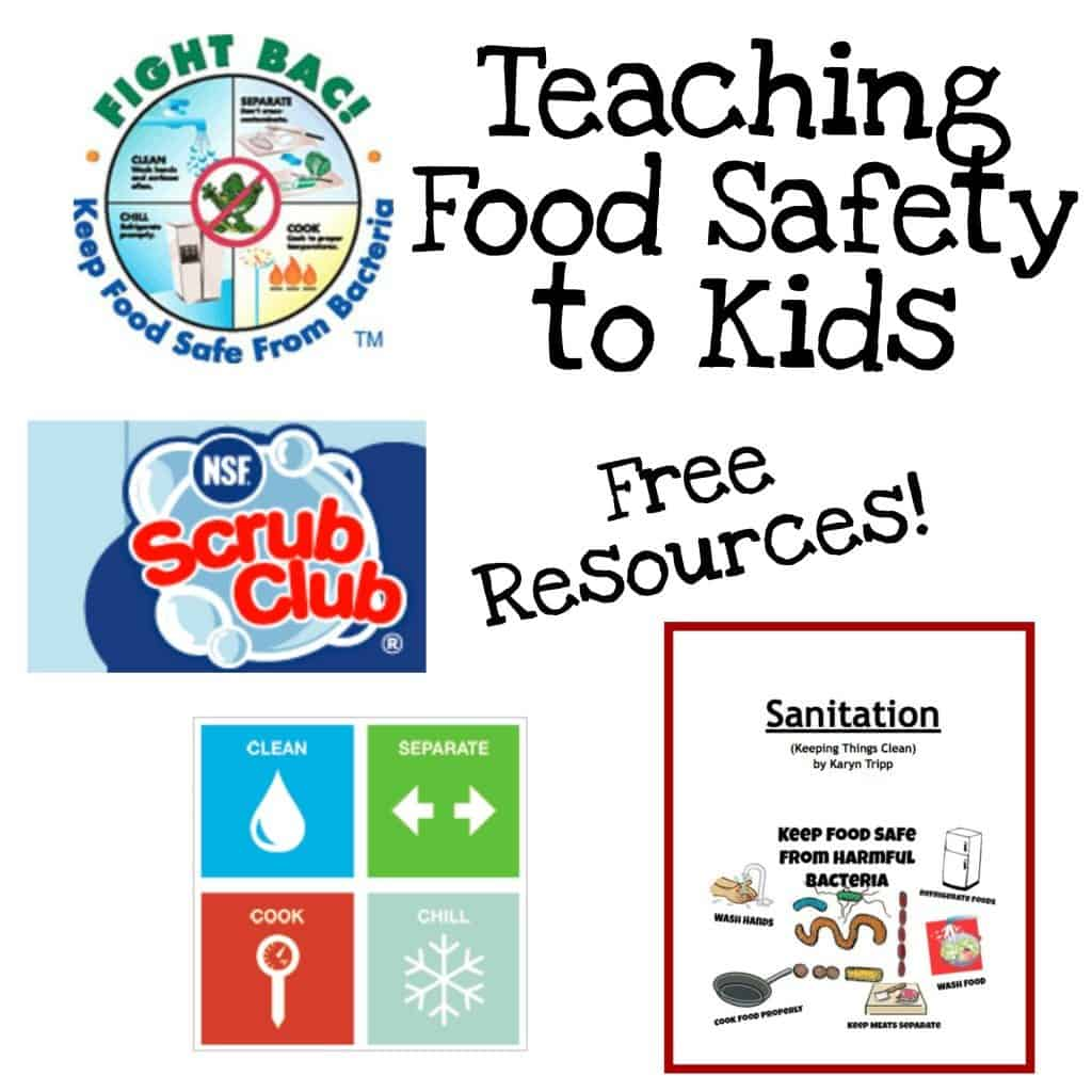 Free Printable Book To Teach Kids Food Safety