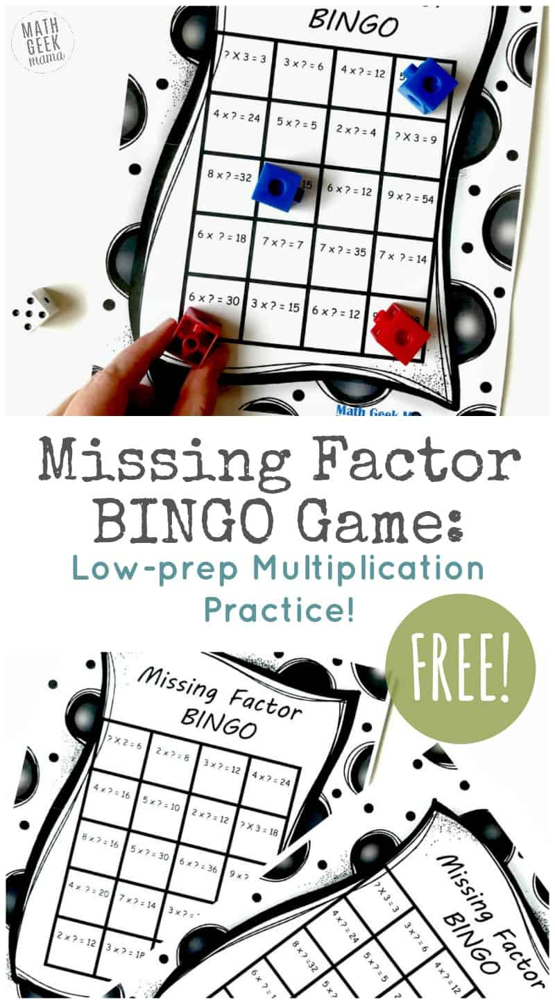 photo relating to Printable Multiplication Bingo named Cost-free Printable Multiplication Bingo Recreation Trouble