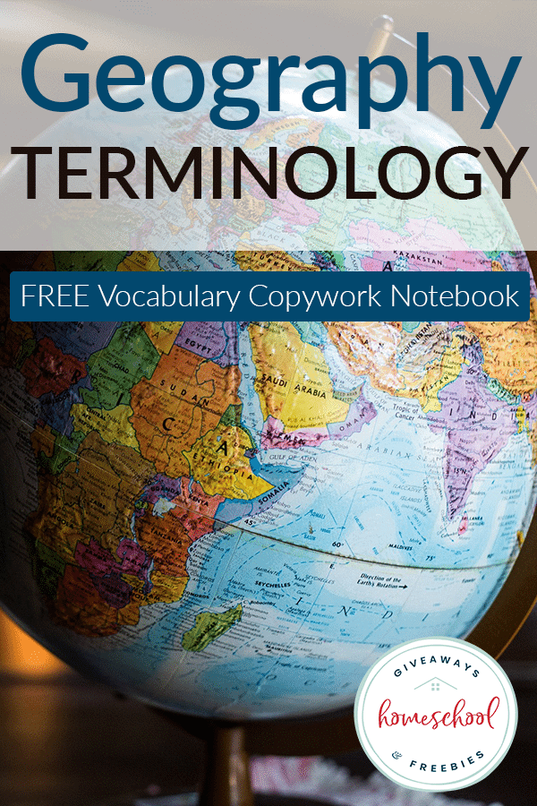 geography-terminology