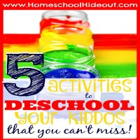 Activities for Deschooling Your Kids