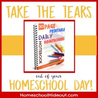 FREE Printable Homeschool Daily Notebook
