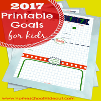 Setting Goals for Kids in 2017