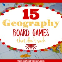 15 Geography Board Games