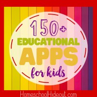 150+ Educational Apps for Kids