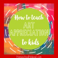Teaching Art Appreciation for Kids