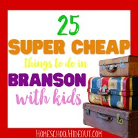 Cheap Things to do in Branson with Kids