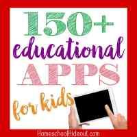 150+ Educational Apps for Kids