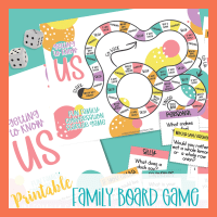 Printable Board Game for Families