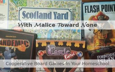 Cooperative Board Games In Your Homeschool