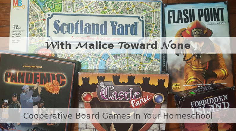 Cooperative Board Games In Your Homeschool