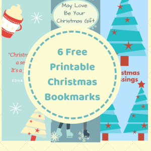 Christmas Themed Bookmarks