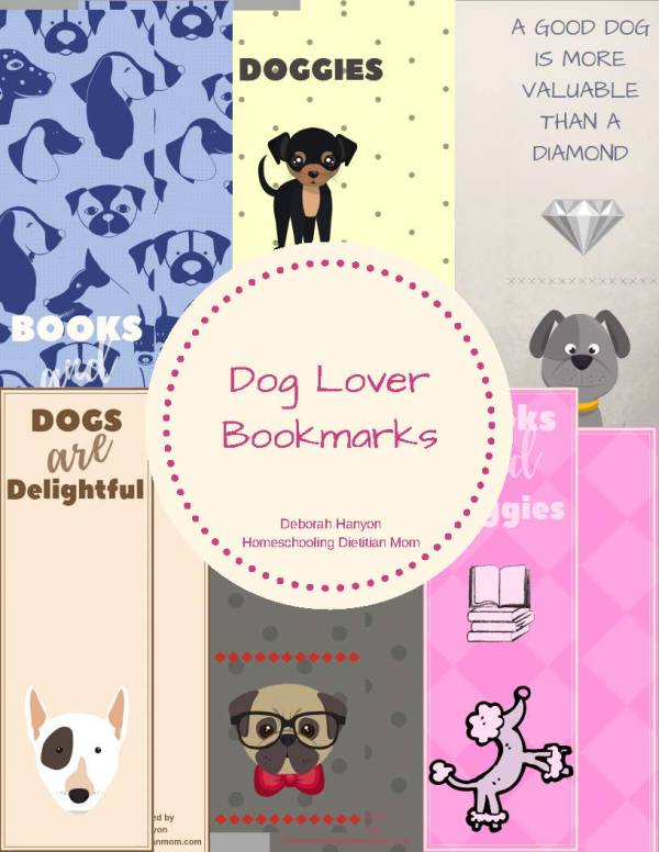 Bookmarks for Dog Lovers