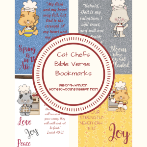 Printable Bible Verse Bookmarks