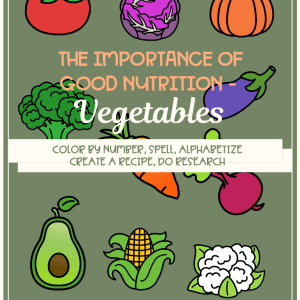 The Importance of Good Nutrition - Vegetables
