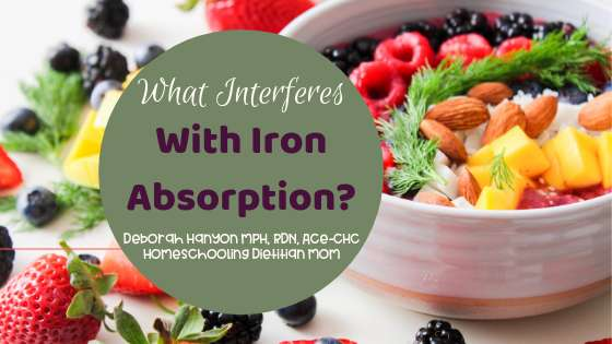 What Interferes with Iron Absorption?