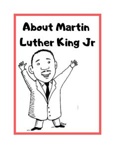 Martin Luther King Jr. K-12 History Curriculum