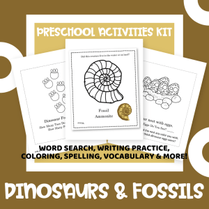 Preschool Dinos and Fossils