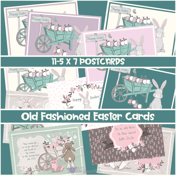 Old Fashioned Easter Cards