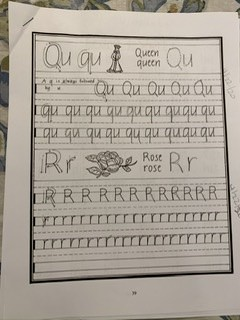 Handwriting for Reluctant Readers