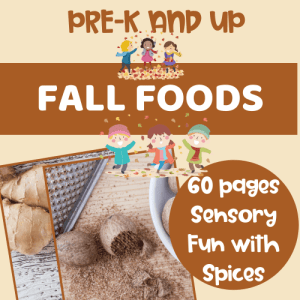 Fall Foods and Spices - Sensory Experiences for the Whole Family