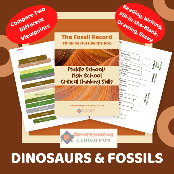 Fossil Record and Dinosaurs Science cover