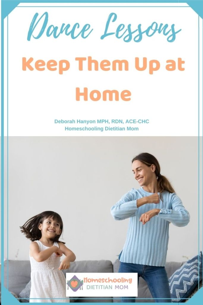 Keep Dance Lessons at Home