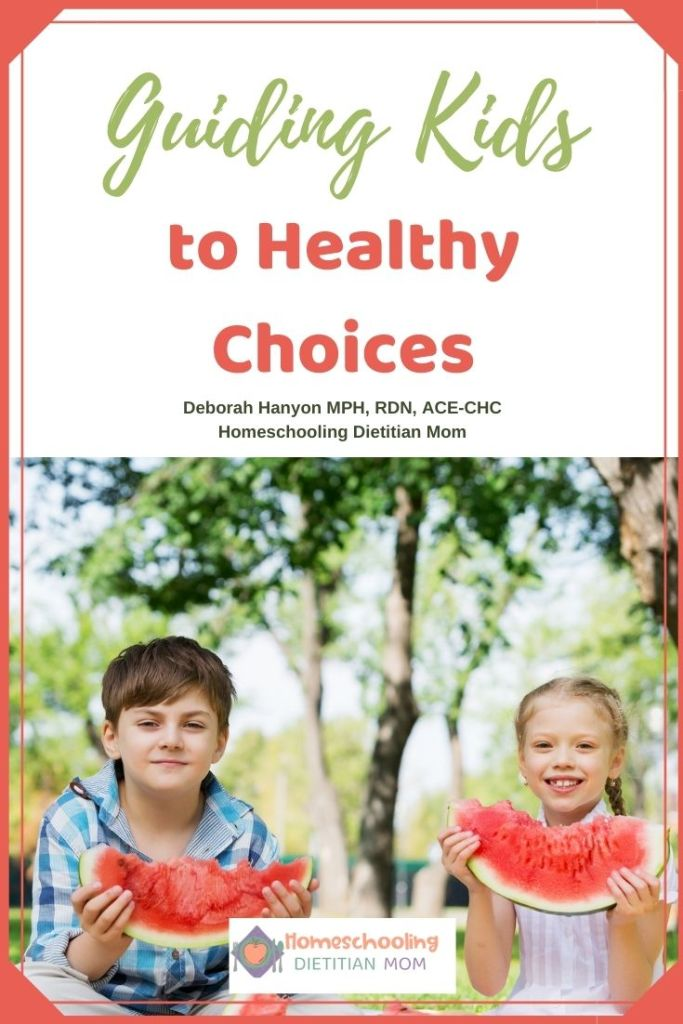 Guiding Kids to Healthy Choices