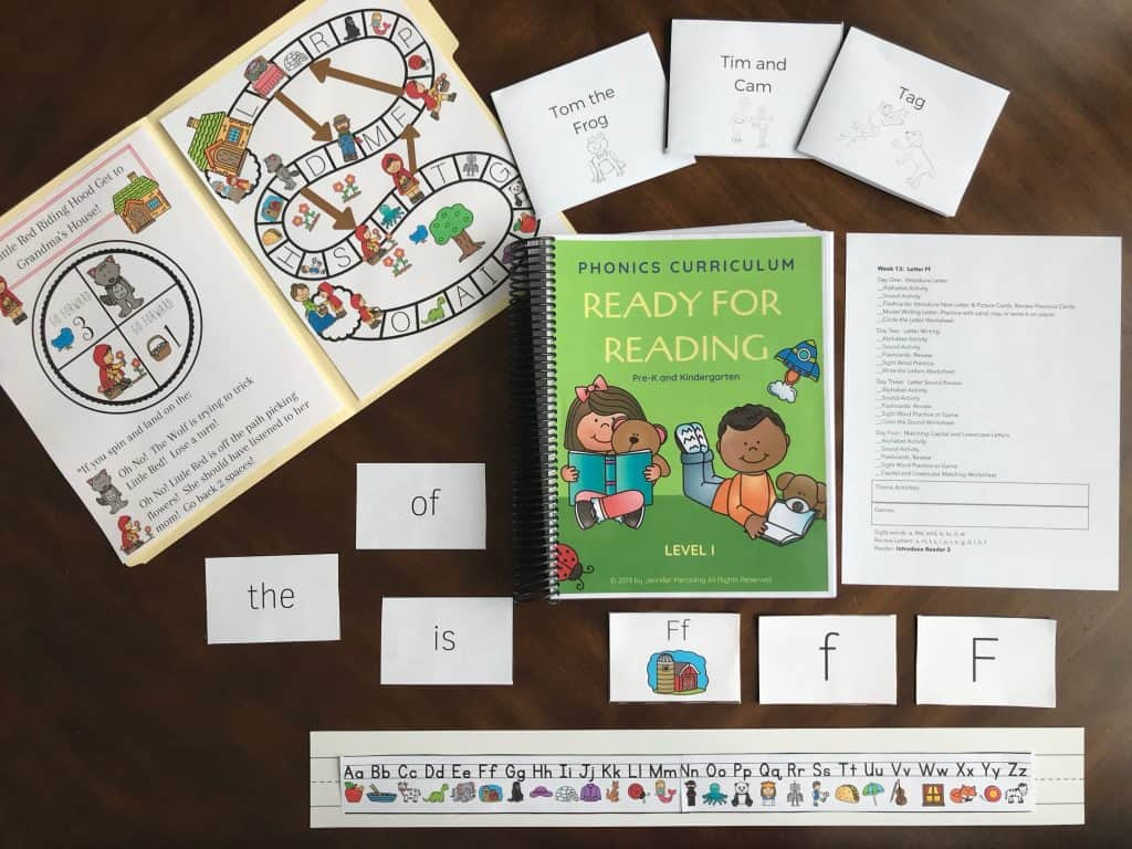 Homeschool Curriculum Review Ready For Reading